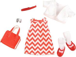 Набор одежды для куклы Lori Платье с принтом (LO30009Z) от Rozetka