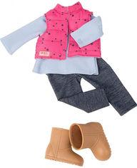 Акция на Набор одежды для кукол Our Generation Жилет с брюками (BD30209Z) от Rozetka