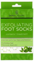 Акция на Пилинговые носочки для ног Skin Academy Tea Tree & Peppermint 1 пара (5031413989953) от Rozetka
