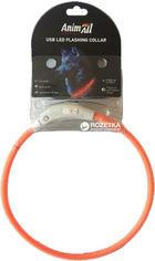Ошейник AnimAll LED 70 см оранжевый (60607) (2000981098612) от Rozetka