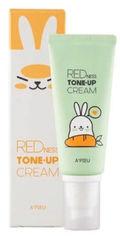 Выравнивающая крем-база против покраснений A'pieu Redness Tone up Cream Red Carrot 65 г (8809581471320) от Rozetka