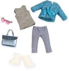 Набор одежды для куклы Lori Голубое пальто (LO30005Z) от Rozetka