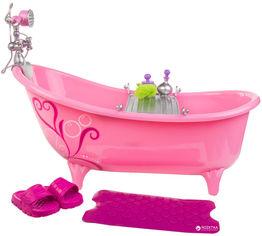 Акция на Игровой набор Our Generation Принимаем ванну 20 аксессуаров (BD37035Z) от Rozetka