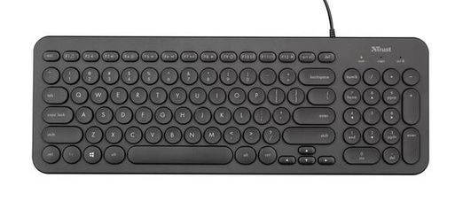 Клавиатура Trust Muto Silent USB Black (23408_TRUST) от MOYO