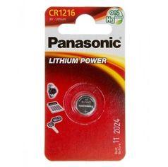 Акция на Батарейка Panasonic CR 1216 BLI 1 LITHIUM от MOYO