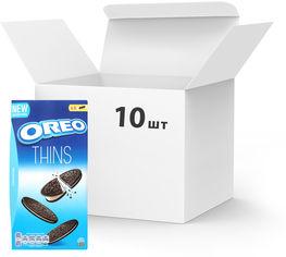 Упаковка печенья Oreo тонкого с какао и кремовой начинкой ванильного вкуса 192 г х 10 шт (7622210606129) от Rozetka