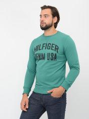 Акция на Свитшот Tommy Hilfiger 9285.2 L (48) Зеленый от Rozetka