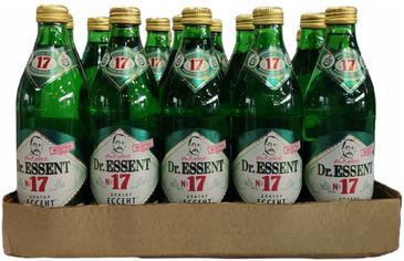 Упаковка минеральной лечебно-столовой газированной воды Dr.Essent Ессентуки №17 0.45 л х 20 шт (4640017371517) от Rozetka