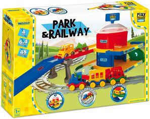 Акция на Железная дорога Wader Play Tracks вокзал 6.4 м (51520) (5900694515208) от Rozetka