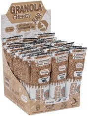 Акция на Упаковка батончиков гранола Oats&Honey Energy Bar с Семенами Чиа 40 г х 24 шт (4820013335335) от Rozetka