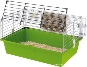 Акция на Клетка для морских свинок Ferplast Cavie 60 с открывающейся дверкой 58х38х31.5 см Зеленая (57012411) от Rozetka