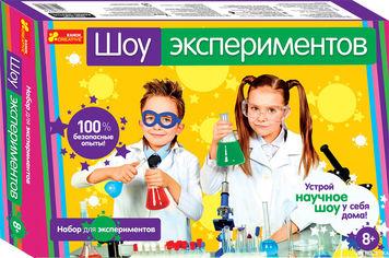 Акция на Набор для опытов Ranok-Creative Шоу экспериментов (4823076111342) (12114022Р) от Rozetka