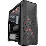 Акция на Корпус AZZA Storm 6000B Black (CSAZ-6000RGB/B) от Foxtrot