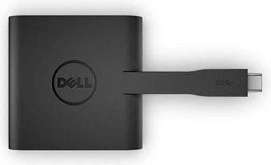 Dell Adapter DA200 USB-C to HDMI+VGA+Ethernet+USB 3.0 Black (470-ABRY) от Y.UA