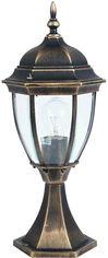 Акция на Уличный светильник Lusterlicht 1279S Dallas II старое золото от Rozetka