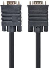 Акция на Кабель Cablexpert Premium VGA HD15M - HD15M 5 м 2 ферритовых кольца (CC-PPVGA-5M-B) от Rozetka