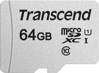 Transcend MicroSDXC 300S 64GB Class 10 UHS-I U1 no adapter (TS64GUSD300S) от Rozetka