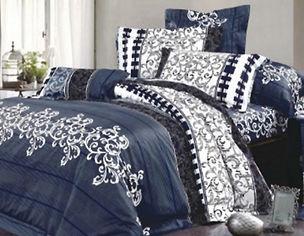 Комплект постельного белья MirSon Бязь 20-0007 Norina 143х210х2 (2200001207806) от Rozetka