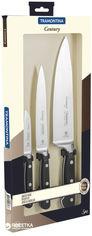 Акция на Набор ножей Tramontina Century из 3 предметов (24099/037) от Rozetka