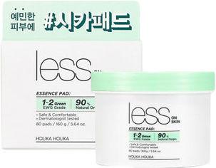 Акция на Диски для проблемной кожи Holika Holika Less On Skin Essence Pad Очищение и успокоение 160 г (8806334379759) от Rozetka