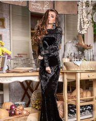 Бархатное платье-годе от Gepur