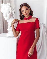 Красное деловое платье от Gepur