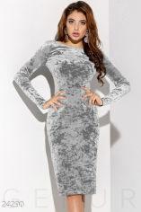 Акция на Оксамитова сукня з камінням от Gepur