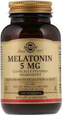 Акция на Аминокислота Solgar Мелатонин 5 мг 120 таблеток (033984019379) от Rozetka