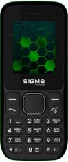 Мобильный телефон Sigma mobile X-style 17 Update Black/Green от Територія твоєї техніки