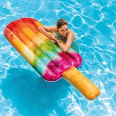 Акция на Пляжный надувной матрас - плот Intex 58766 Мороженое, 191 х 76 см от Stylus