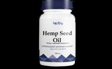 Healthy Nation Масло с семян конопли 500 мг № 120 от Stylus