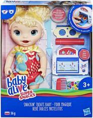 """Акция на Кукла Hasbro Baby Alive """"Малышка и еда"""" (E1947) от Stylus"""