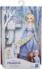 Акция на Игровой набор Hasbro Frozen Холодное сердце 2 с аксессуарами для волос Эльза (E7002) от Stylus