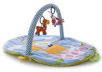 Развивающий коврик-сумка с дугами Biba Toys Веселая ферма (085BP) от Stylus