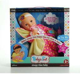 Пупс Baby's First Sleepy Time Baby (21630) от Stylus