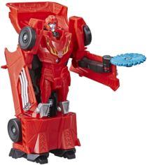 Transformers Hasbro Трансформер Кибервселенная Уан Степ Tra Cyberverse 1 Step Hot Rod E3522_E3644 от Stylus