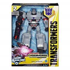 Transformers Hasbro Трансформеры Кибервселенная: Атакер Cyberverse Ultimate Newman (E1885_E2066) от Stylus