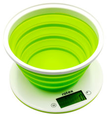 Весы кухонные электронные Rotex RSK25-P от Rozetka