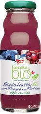 Упаковка Сока органического La Finestra Яблоко-гранат-черника 0.2 л х 6 бутылок (8017977028014) от Rozetka