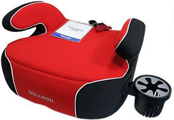 Автокресло Welldon Penguin Pad Красный/черный (PG08-P02-003) (4820212900136) от Rozetka