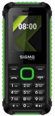 Мобильный телефон Sigma mobile X-style 18 Track Black-Green от Територія твоєї техніки