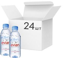 Акция на Упаковка минеральной негазированной воды Evian 0.33 л х 24 бутылки (3068320063010) от Rozetka