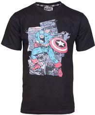 Акция на Футболка Good Loot Marvel MC Capt. Amer. Comics (Капитан Америка) XL (5908305219262) от Rozetka
