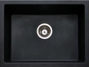 Кухонная мойка LONGRAN CLASSIC CLS 600.450 черная (10 Onyx) от Rozetka