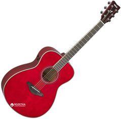 Гитара электроакустическая Yamaha FS-TA Ruby Red (FSTA RR) от Rozetka