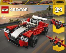 Акция на Конструктор LEGO Creator Спортивный автомобиль 3 в 1 (31100) от Будинок іграшок