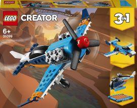 Акция на Конструктор LEGO Creator Винтовой самолет (31099) от Будинок іграшок