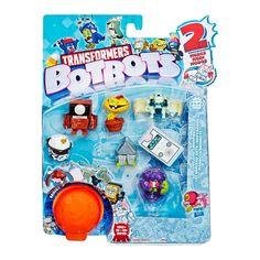 Акция на Набор фигурок Transformers Botbots Гоу-гоу банда ассортимент со сюрпризом (E3494/E4152) от Будинок іграшок