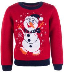 Акция на Джемпер Flash Рождество 19BG134-6-3900 134 см NY Красный (2200000248527) от Rozetka