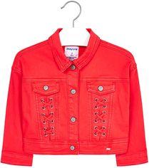 Джинсовая куртка Mayoral 3407-17 7Y Красная (2903407017078) от Rozetka